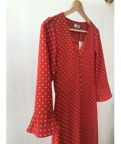 Vestido Isabel Lunares
