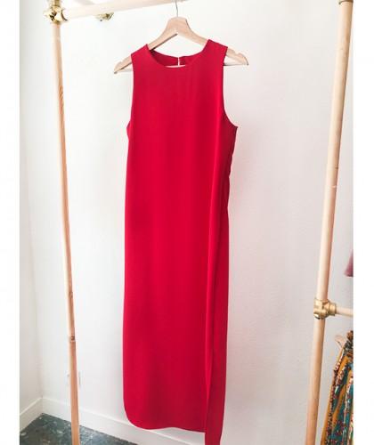 Vestido Sabrina Rojo