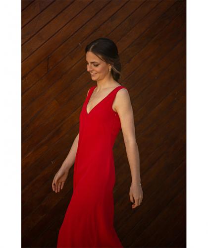 Vestido Felicia Rojo Valentino