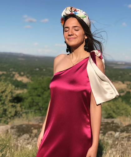 Vestido Asimétrico Tirante...