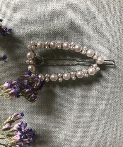 Pasador Perlas Vintage
