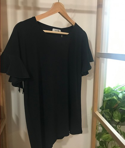 Camiseta Valentina Negro