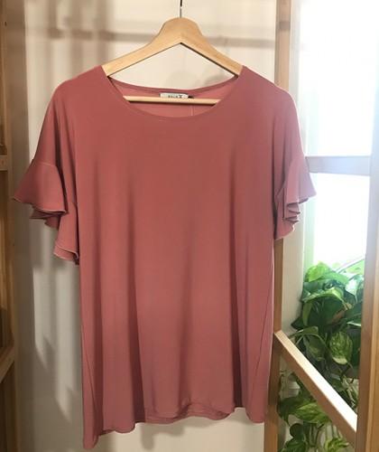 Camiseta Valentina Rosa Nude