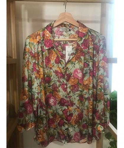 Camisa Catalina Flores